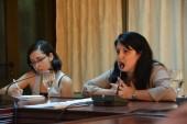 Reunión de corresponsales del periódico Granma sesionando en el salón de conferencias del hotel de la UJC en 100 y Vento, Boyeros, con la presencia de Yailín Orta Rivera, directora del diario, los subdirectores y demás miembros del Consejo de Dirección.